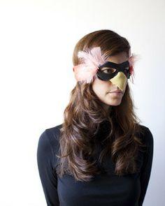 bird costume (mask, actually)