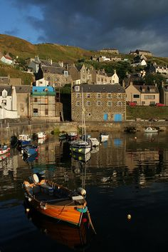 Gardenstown Harbour, Aberdeenshire, Scotland