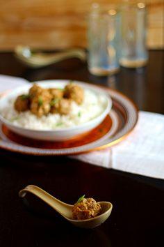 Thai Curry-Coconut Meatballs