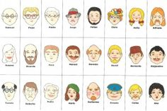 My Spanish Teacher » Games for Learning – Guess Who