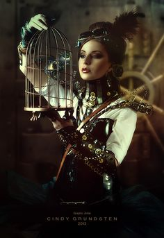 steampunk II by CindysArt.deviantart.com on @deviantART