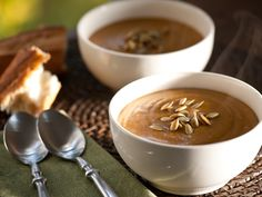 Roasted Butternut Squash Soup Recipe : Michael Chiarello : Food Network - FoodNetwork.com