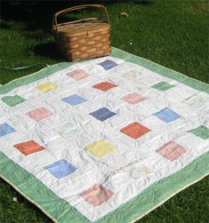 picnic quilt from Susan Branch