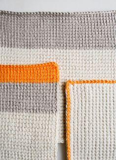 Nozioni di base Crochet tunisini - Tutorial Uncinetto - Maglia Uncinetto Cucito Ricamo Mestieri Modelli e idee!