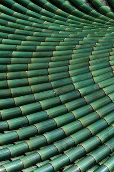 Bamboo at Kek Lok Si temple in Penag--Bertrand Linet