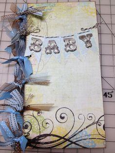 Baby Boy Scrapbook