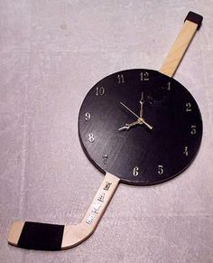 Easy hockey clock DIY