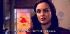 blair waldorf quotes | Tumblr
