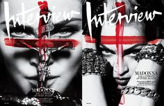 Madonna. Cover by Fabien Baron.