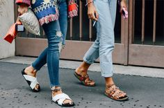 Spotted: Falling For Flats