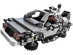 Travel Back to the Future with the awesome DeLorean time machine!