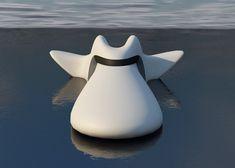 Delfino - sonic boat by Yu Hiraoka