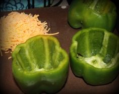 Easy stuffed pepper recipe from It's An Ordinary Blog.