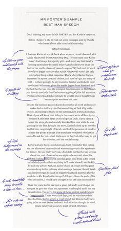 how to write a best mans speech