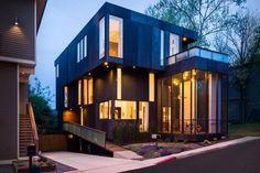 Calvin and Kelly's Modern Lightbox Home in Atlanta