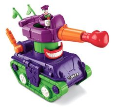 Amazon.com: Fisher-Price Imaginext DC Super Friends Joker Tank: Toys & Games