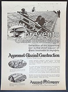 Aspromet Glazing Construction Company Ad