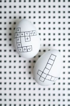 Crossword Easter Eggs