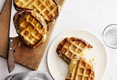 Waffle-Iron Recipes - Grilled Cheese in a Waffle Iron - Oprah.com