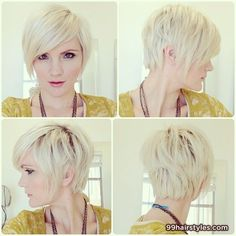 Pixie cut with long front - 99 Hairstyles Ideas