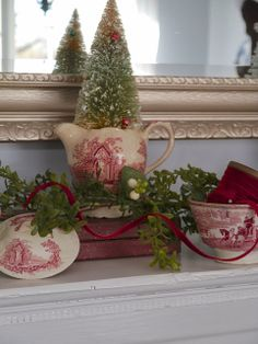 Chateau Chic: Sneak Peeks of Christmas holiday, pretti monday, bottl brush, vignett, christma