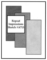 Repeat Impressions Sketch #A713. Play along with our WHAT IF? Wednesday Sketch Challenges for your chance to win a Repeat Impressions gift certificate! - www.thehousethatstampsbuilt.com - #repeatimpressions #rubberstamps #rubberstamping #cardmaking