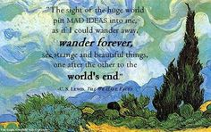 C.S. Lewis quote about wandering