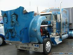 Kenworth W900L from the Mid America Truck Show