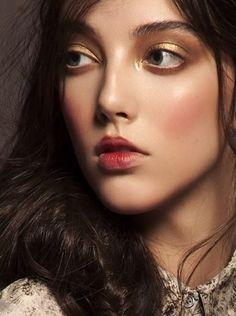 Makeup by Moises Ramirez.