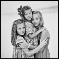 Can't wait for a pic like this for our home. Sisters<3