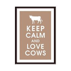 I love cows. Preferably ones without horns & better udders than this one, but same thought applies.