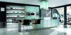 awesome black white kitchen - modern