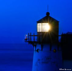 Blue Light house