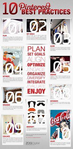 10 Pinterest best practices to make your content more shareable  Follow #PinterestFAQ on #PInterest curated by Joseph K. Levene Fine Art, Ltd.    #Pinterest     #JKLFA   JKLFA.com