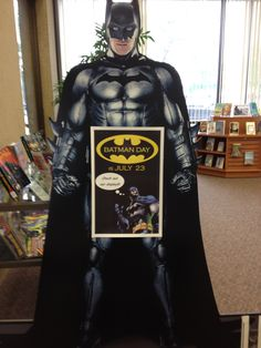 Brown County Central Library celebrates Batman Day!