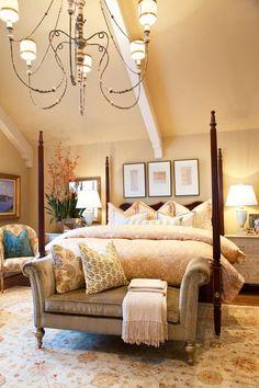 interior, bedroom decor, gari rigg, guest bedrooms, cozy bedroom, bedroom design, master bedrooms, hous, four poster beds