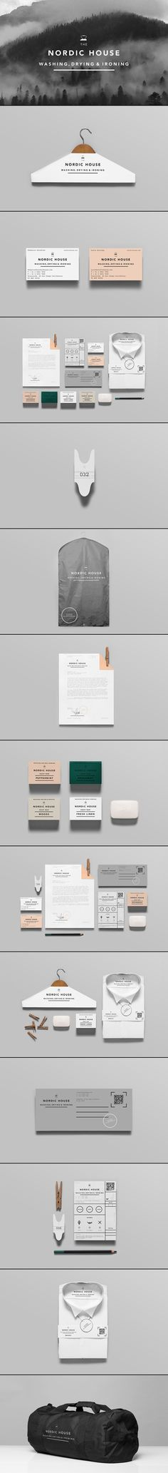 Nordic House | #stationary #corporate #design #corporatedesign #identity #branding #marketing < repinned by www.BlickeDeeler.de | Take a look at www.LogoGestaltung-Hamburg.de
