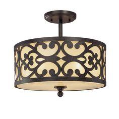 Nanti Semi Flush Ceiling Light Minka Lavery Semi Flush Flush & Semi Flush Lighting Ceiling