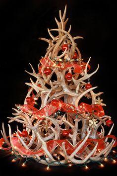 Whitetail Antler Christmas Tree