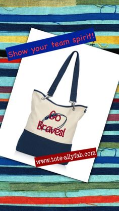It's time again for Friday Night Lights! Love this sporty bag for fall tailgating and gaming!