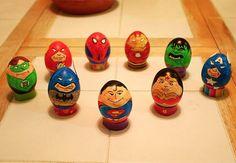Easter: Super Hero Easter Eggs