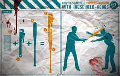 how to survive a ZOMBIE-INVASION with household-goods 01