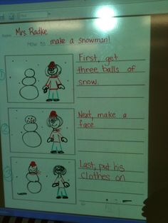 Kreative in Kinder: interactive writing