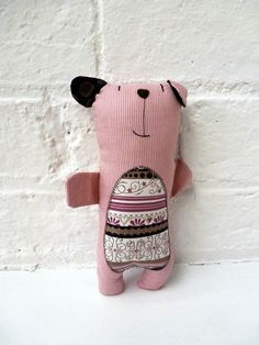 doesn't take much to dress up a simple bear stuffie