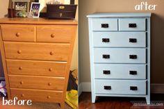 Carissa Miss: Mission Style Dresser transformation