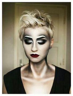 Halloween makeup - highlights & lowlights