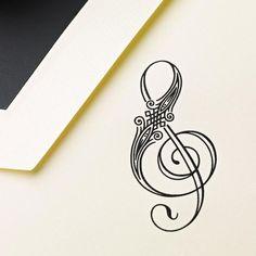 Beautiful music tattoo!!!