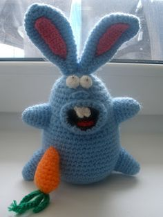 Crazy Bunny free crochet pattern by Colorfull Creations