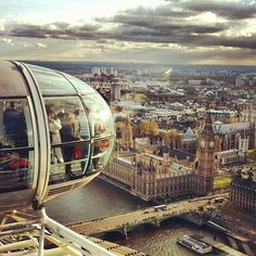 {the London Eye}