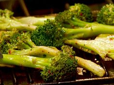 The Neely's grilled broccoli